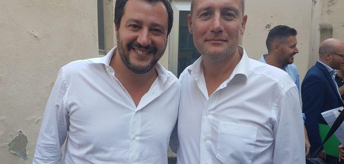 2017.12.04 Il Segretario Federale della Lega Nord Matteo Salvini in Alto Adige
