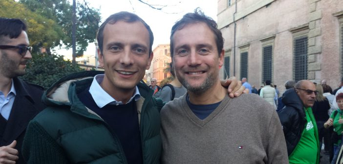 2018.04.30 Grande trionfo di Massimiliano Fedriga e della Lega in Friuli Venezia Giulia.