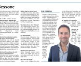 2019.03.16 Interview Dolomiten – Massimo Bessone